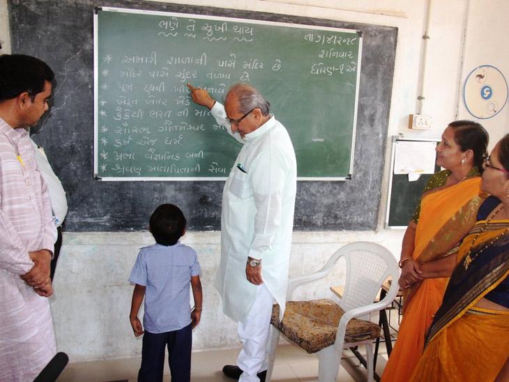 ગુજરાતમાં બે વર્ષમાં 1287 ખાનગી સ્કૂલ સામે માત્ર 122 જ સરકારી શાળાને મંજૂરી  - Divya Bhaskar