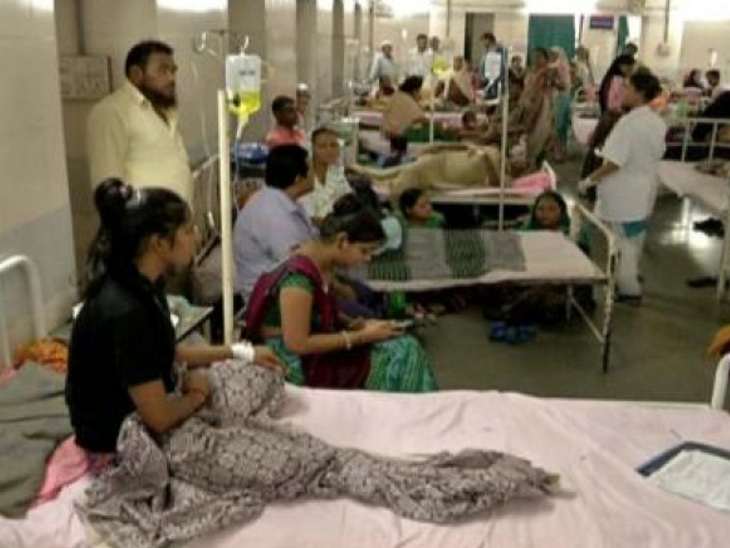 રાજકોટમાં રોગચાળાનું પ્રમાણ વધ્યું, સૌરાષ્ટ્રમાં તાવ અને ઝાડા-ઉલ્ટીના કેસોમાં વધારો, એક બાળકનું મોત| - Divya Bhaskar