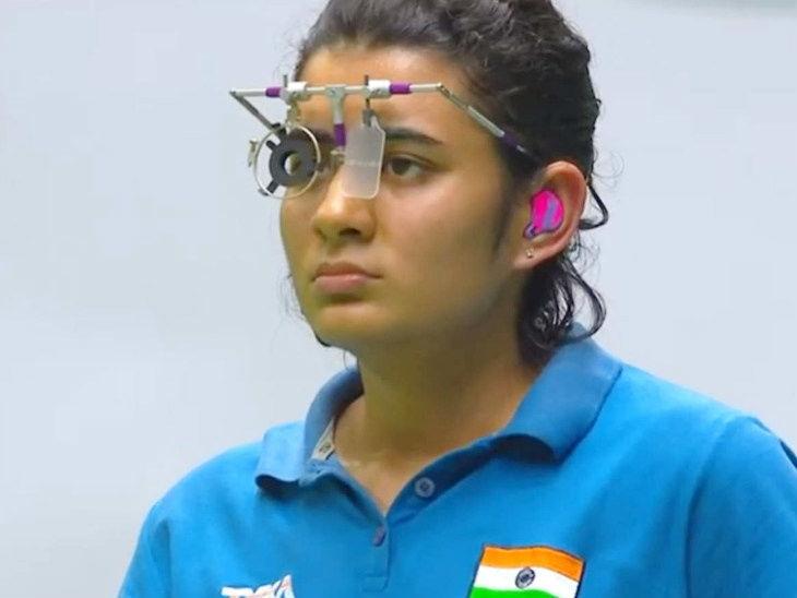 યશસ્વિનીએ ભારતને ત્રીજો ગોલ્ડમેડલ અપાવ્યો, ઓલમ્પિક કોટા હાંસિલ કરનારી દેશની 9માં ક્રમની શૂટર  - Divya Bhaskar