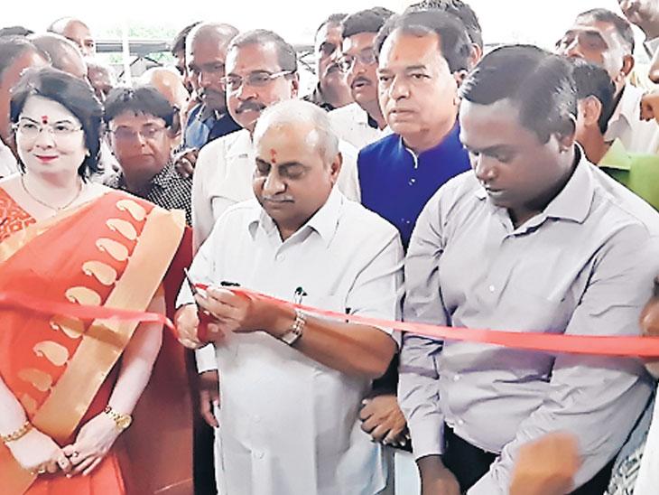 માંડલમાં વિવિધ કામોનું લોકાર્પણ નાયબ મુખ્યમંત્રીના હસ્તે યોજાયું વિરમગામ,Viramgam - Divya Bhaskar