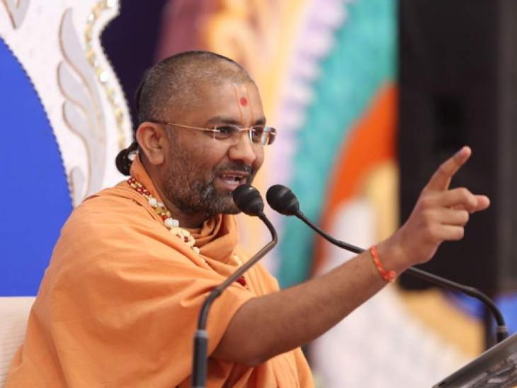 દલિત સમાજ વિશે કથિત ટીપ્પણી મુદ્દે વિશ્વવલ્લભ સ્વામી સામે સુરત કોર્ટમાં ફરિયાદ|સુરત,Surat - Divya Bhaskar