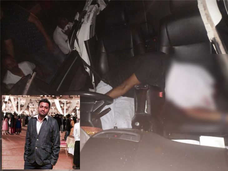 ટ્રેલર સાથે અકસ્માતમાં યુવકનું મોત, પત્નીને 5 મિનિટ પહેલાં ફોન કરી જમવાનું તૈયાર કરવા કહ્યું હતું|સુરત,Surat - Divya Bhaskar