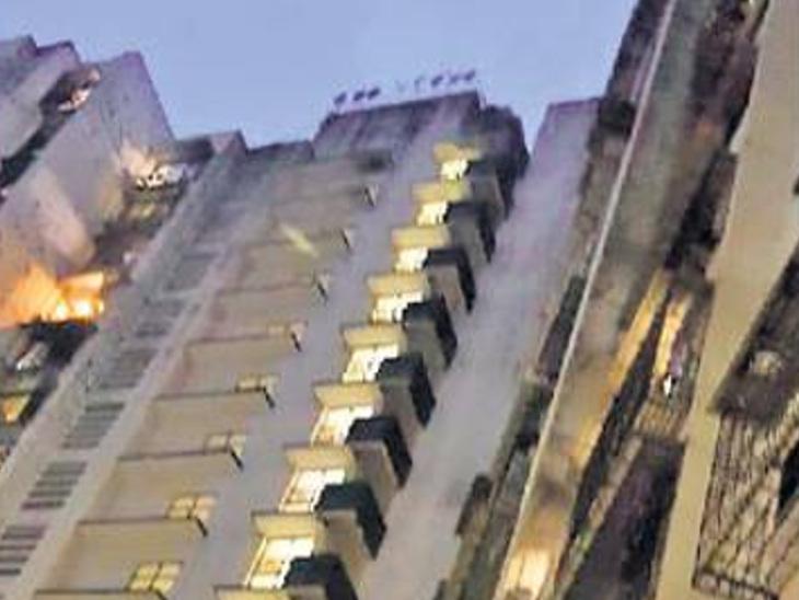 મુલુંડમાં કચ્છી યુવાને અગમ્ય કારણોસર 15માં માળેથી કુદકો મારી આપઘાત કર્યો|મુંબઇ,Mumbai - Divya Bhaskar
