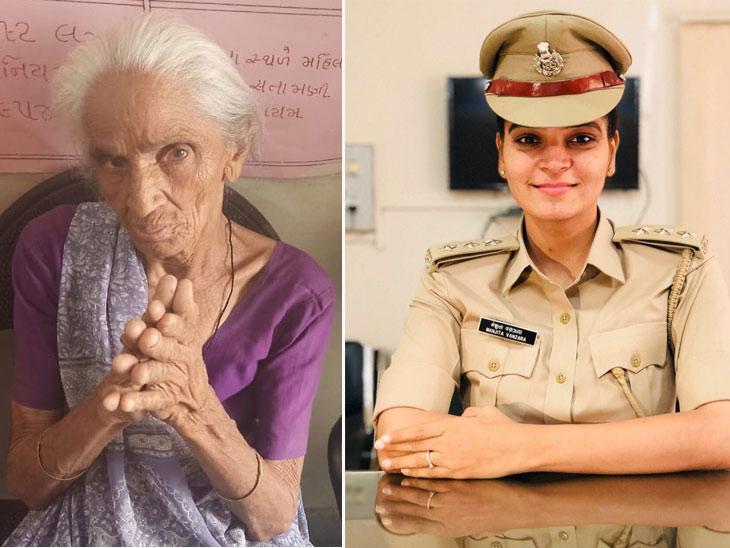 પુત્રોના મારથી બચવા 80 વર્ષીય માજી વૃદ્ધાશ્રમમાં રહેવા ગયા, Dysp મંજીતાએ દત્તક લીધા, દીકરી તરીકે જવાબદારી ઉપાડી|મહેસાણા,Mehsana - Divya Bhaskar