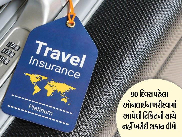 હવેથી ઓનલાઈન ટિકિટ બુકિંગ કંપનીઓ તેમની ઈચ્છા મુજબ ટ્રાવેલ ઈન્શ્યોરન્સ નહીં આપી શકે ટ્રાવેલ,Travel - Divya Bhaskar