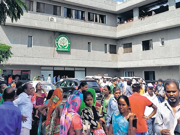 ડીલિવરી દરમિયાન મહિલાનું મોત થતાં પરિજનોનો હોબાળો|બોડેલી,Bodeli - Divya Bhaskar