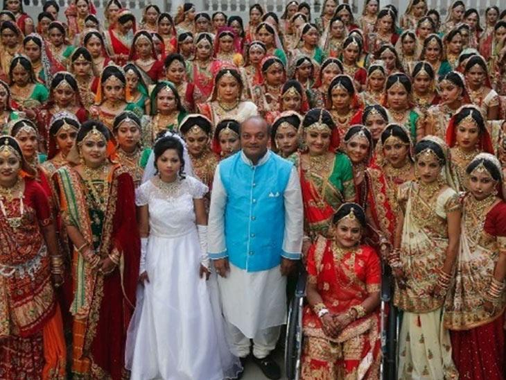 મહેશ સવાણી વધુ 300 દીકરીના લગ્ન કરાવશે સુરત,Surat - Divya Bhaskar