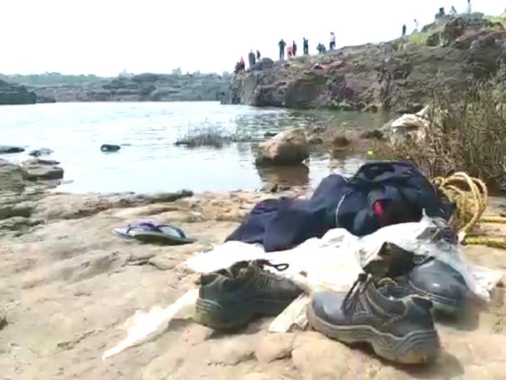 દમણગંગા નદીમાં 3 વિદ્યાર્થીઓ ડૂબ્યાં બેને બચાવાયા,એકની શોધખોળ શરૂ|વલસાડ,Valsad - Divya Bhaskar