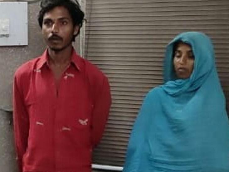 કામ બાબતે ઝઘડો થતા સગા ભાઇ અને ભાભીએ યુવકને તિક્ષ્ણ હથિયારના ઘા ઝીંકી હત્યા કરી|ઈન્ડિયા,National - Divya Bhaskar