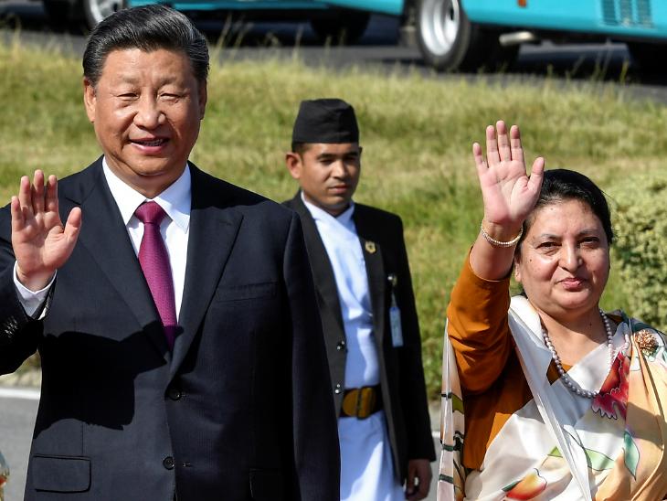 નેપાળ પ્રવાસ પર જિનપિંગે કહ્યું- ચીનને વિભાજિત કરનારાઓનું કચૂંબર કાઢી નાખવામાં આવશે|વર્લ્ડ,International - Divya Bhaskar