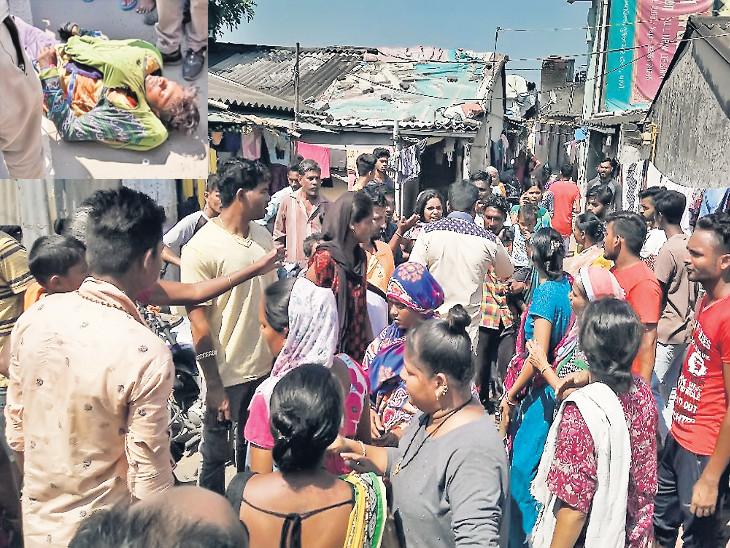મહિલા માટે પૂર્વ પતિ અને પ્રેમીની લડાઇમાં ત્રીજી વ્યક્તિ પર તીક્ષ્ણ હથિયારથી હુમલો|નવસારી,Navsari - Divya Bhaskar