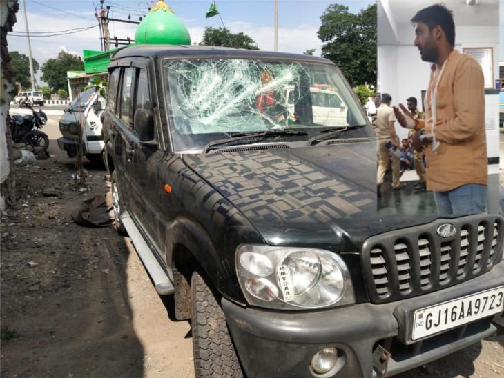 ડિંડોલીમાં VHPના ગૌરક્ષા વિભાગના પ્રાંત સંયોજક પર હુમલો થતા ઈજાગ્રસ્ત|સુરત,Surat - Divya Bhaskar