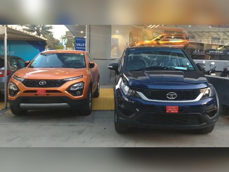 ટાટા હેક્સા અને હેરિયર પર બંપર ડિસ્કાઉન્ટ, 2.3 લાખ રૂપિયા સુધીની છૂટ મળી રહી છે|ઓટોમોબાઈલ,Automobile - Divya Bhaskar