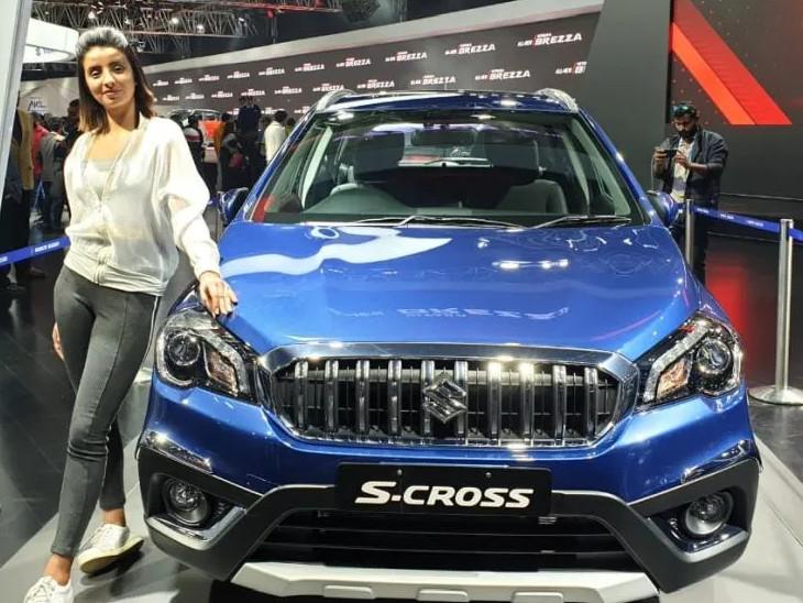 મારુતિની S-Crossનું પેટ્રોલ વેરિઅન્ટ શોકેસ થયું, અંદાજિત કિંમત ₹8 લાખથી ₹12 લાખ ઓટોમોબાઈલ,Automobile - Divya Bhaskar