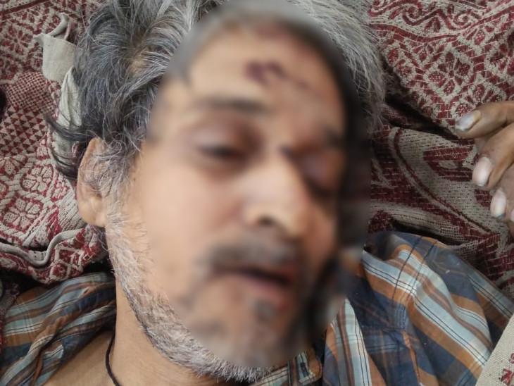 દર્દીનું ઘટનાસ્થળ પર મોત નીપજ્યું હતું - Divya Bhaskar