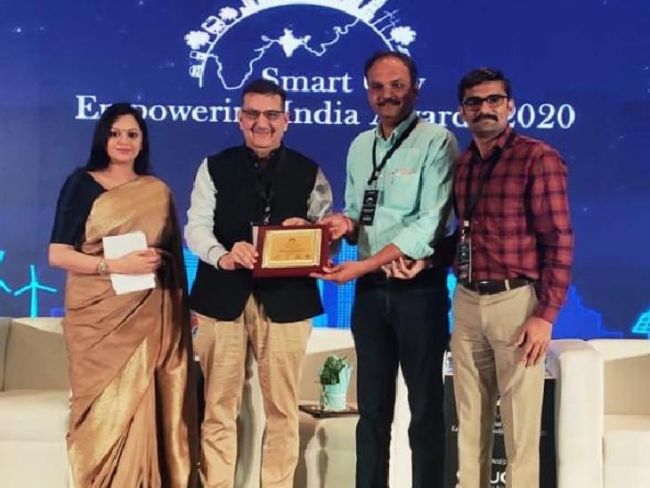 કેન્દ્ર સરકારના સ્માર્ટ સિટી મિશન હેઠળ 100 શહેરોમાંથી રાજકોટ શહેરને એવોર્ડ મળ્યો| - Divya Bhaskar