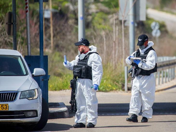 ઈઝરાઈલની લેબેનોન સરહદ પર સુરક્ષા દળ સંક્રમણની તપાસ કરી રહ્યા છે