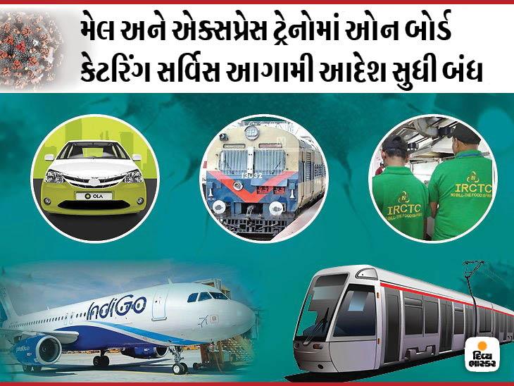 જનતા કર્ફ્યુ દરમિયાન 2400 પેસેન્જર ટ્રેનો દોડશે નહીં, ગોએેરે તમામ અને ઈન્ડિગોએ 40% ફ્લાઈટ રદ કરી યુટિલિટી,Utility - Divya Bhaskar