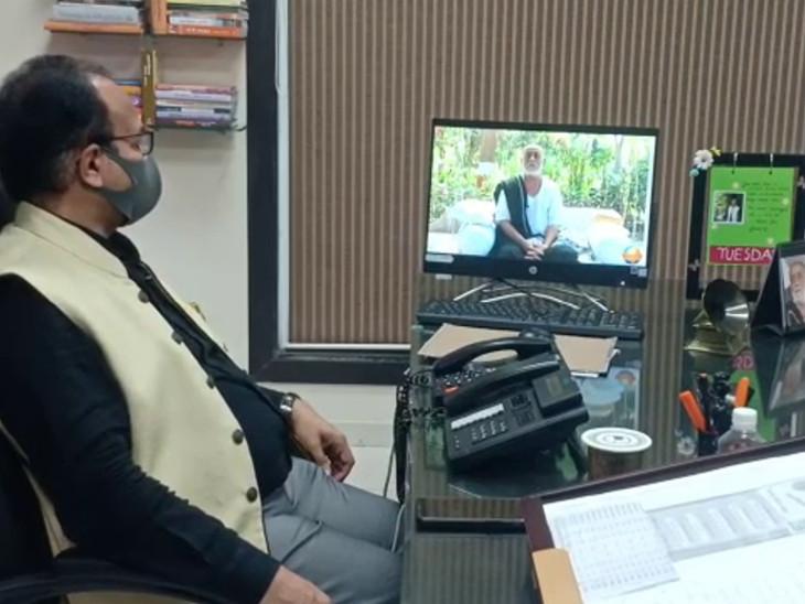 સૌ. યુનિ.ના વિદ્યાર્થીઓને 25 દિવસ સુધી મોરારિ બાપુ, માયાભાઇ આહિર સહિત ખ્યાતનામ સાહિત્યકાર વ્યાખ્યાનમાળા આપશે|રાજકોટ,Rajkot - Divya Bhaskar