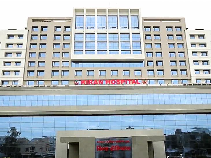 વધુ 3 ડોક્ટર સહિત કુલ 23 સ્વાસ્થ્યકર્મી ચેપગ્રસ્ત, 30મી સુધી કિરણ હોસ્પિટલ બંધ, કુલ 554 કેસ|સુરત,Surat - Divya Bhaskar
