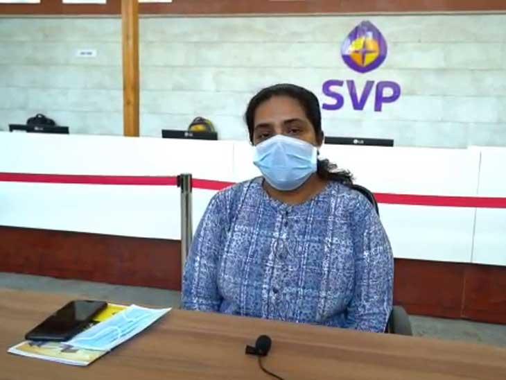 મહિલા ક્રાઈમ બ્રાન્ચ ACP મીની જોસેફ કોરોનામુક્ત થયા, કહ્યું- કોરોના ટેસ્ટ પોઝિટિવ આવે તો નાસીપાસ થશો નહીં|અમદાવાદ,Ahmedabad - Divya Bhaskar