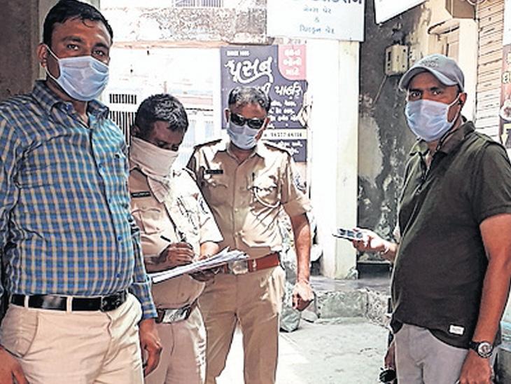 માંડવીના 6 વેપારી LCB ના ગુપ્ત કેમેરામાં થયા કેદ,  માંડવીમાં જાહેરનામાના ગુના શોધવામાં આવ્યા માંડવી (ભુજ),Mandvi - Divya Bhaskar