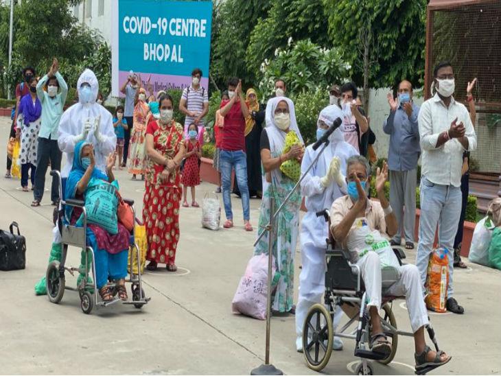 ચિરાયુ હોસ્પિટલથી શુક્રવારે 41 કોરોના દર્દીઓને રજા આપવામાં આવી. શહેરી કોવિડ હોસ્પિટલમાંથી અત્યાર સુધી 1108 દર્દી સાજા થઈ ચુક્યા છે