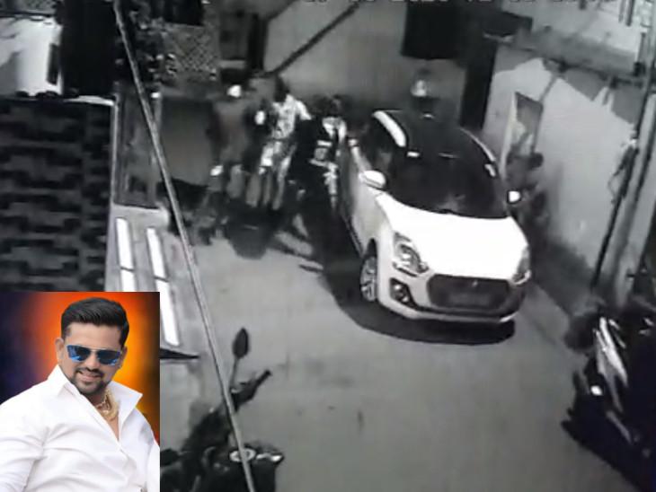 ઉધના-ભીમનગરના બૂટલેગર કાલુને મોડીરાત્રે રેલવે ટ્રેક પાસે રહેંસી નાખ્યો, CCTV સુરત,Surat - Divya Bhaskar