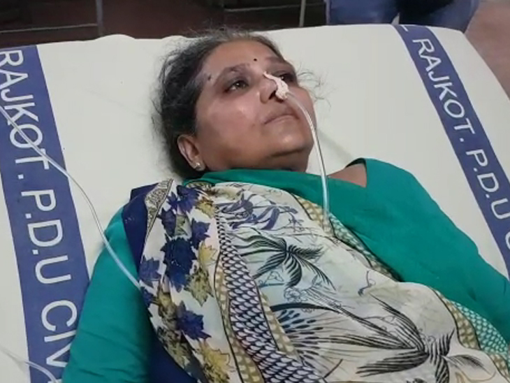 રાજકોટમાં રૂપિયાની લેતી દેતી બાબતે દંપતીનો ફિનાઈલ પી આપઘાતનો પ્રયાસ રાજકોટ,Rajkot - Divya Bhaskar