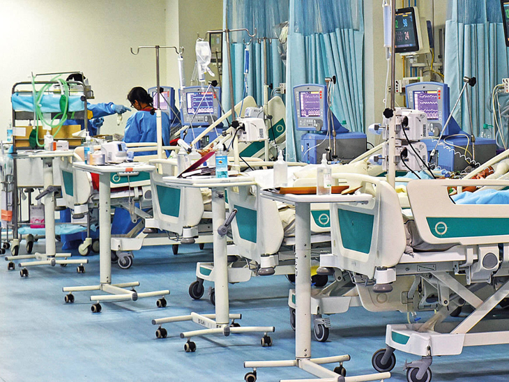 હોસ્પિટલો આઈસોલેશન બેડના રોજના 10 હજાર, વેન્ટિલેટરના રૂપિયા18 હજારથી વધુ નહીં લઇ શકે ઈન્ડિયા,National - Divya Bhaskar