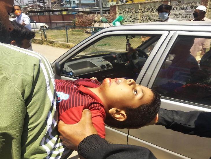 અનંતનાગના બીજબેહરામાં CRPFની ટૂકડી પર આતંકી હુમલો, એક જવાન શહીદ, એક બાળકનું મોત|ઈન્ડિયા,National - Divya Bhaskar
