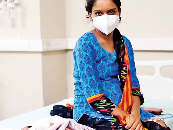સ્મીમેર હોસ્પિટલના ગાયનેક વોર્ડમાં છેલ્લા 100 દિવસમાં 53 કોરોના પોઝિટિવ પ્રસુતાઓની સફળ ડિલિવરી કરાઈ|સુરત,Surat - Divya Bhaskar