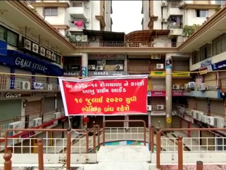 રાંદેર-અડાજણની દુકાનો સ્વયંભૂ બંધ, હીરા અને ટેક્સટાઈલ માર્કેટમાં પણ સ્વૈચ્છિક લોકડાઉન|સુરત,Surat - Divya Bhaskar