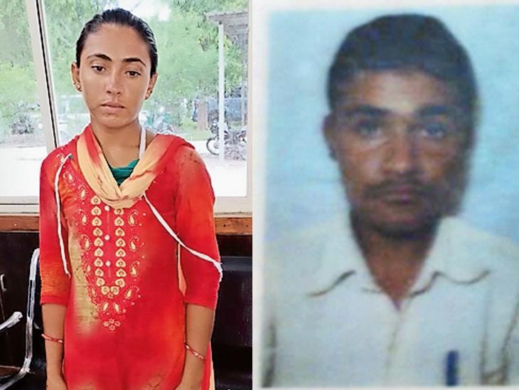 સાથે રહેવું ન હોવાથી પત્નીએ પતિને આંખે પાટા બાંધવાની રમત રમાડી હત્યા કરી નાખી|ગાંધીનગર,Gandhinagar - Divya Bhaskar