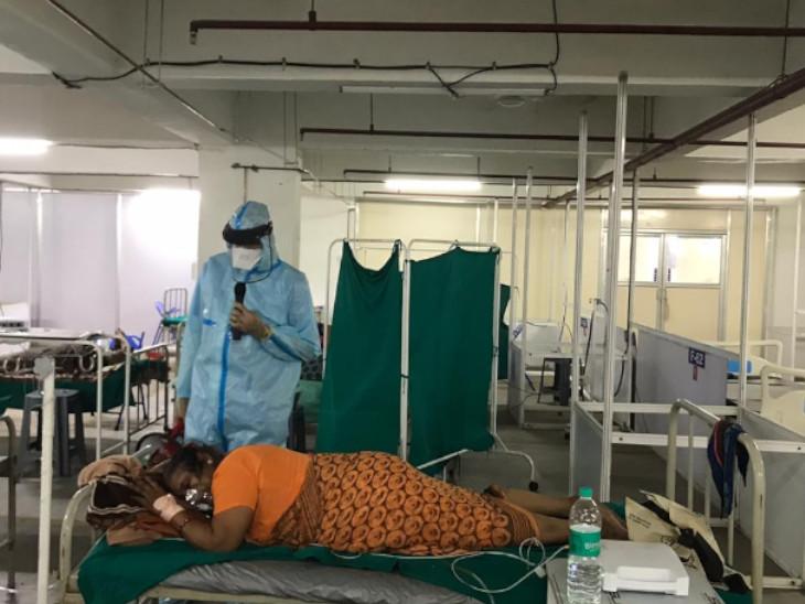 સ્મીમેરમાં લંગ પ્રોનિંગ થેરાપીથી સારવાર અપાતાં 500થી વધુ દર્દી સાજા થઈ ગયાનો દાવો કરાયો|સુરત,Surat - Divya Bhaskar