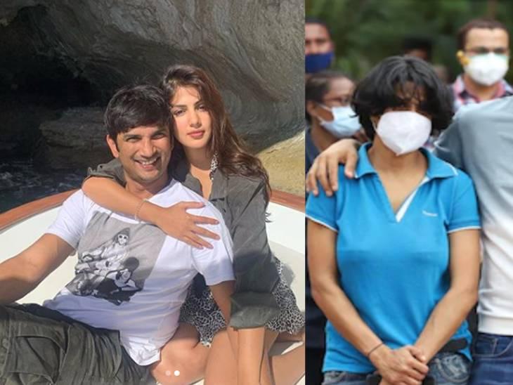 બહેન મિતુએ બિહાર પોલીસને કહ્યું, 'હવે ક્યારેય પાછી નહિ આવું' એમ કહીને રિયા 8 જૂને સુશાંત સાથે ઝઘડો કરી સામાન લઈને જતી રહી હતી બોલિવૂડ,Bollywood - Divya Bhaskar