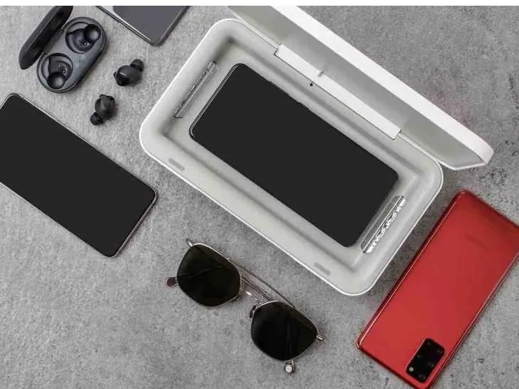 સેમસંગે ભારતમાં 3,599 રૂપિયાનું વાયરલેસ ચાર્જર ધરાવતું 'UV સેનિટાઈઝર' લોન્ચ કર્યું|ગેજેટ,Gadgets - Divya Bhaskar