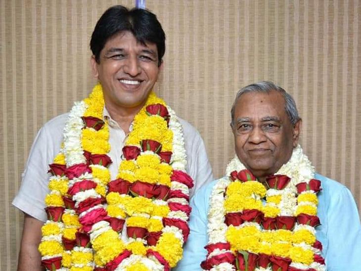 સંદિપ દેસાઈ અને રમણ જાની - Divya Bhaskar