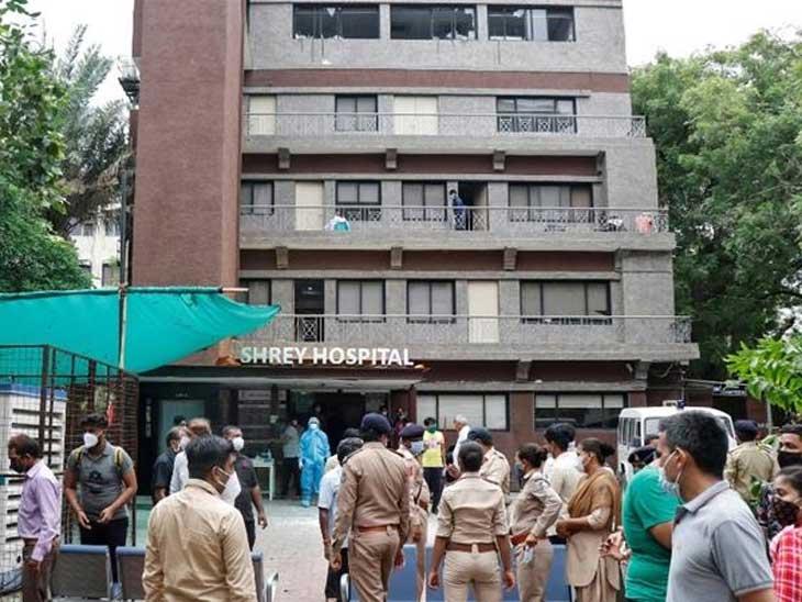 શ્રેય હોસ્પિટલ અગ્નિકાંડ બાદ ફાયર તંત્ર જાગ્યું, NOC અને ફાયર સેફ્ટી અંગે 66 કોવિડ હોસ્પિ.માં તપાસ શરૂ|અમદાવાદ,Ahmedabad - Divya Bhaskar