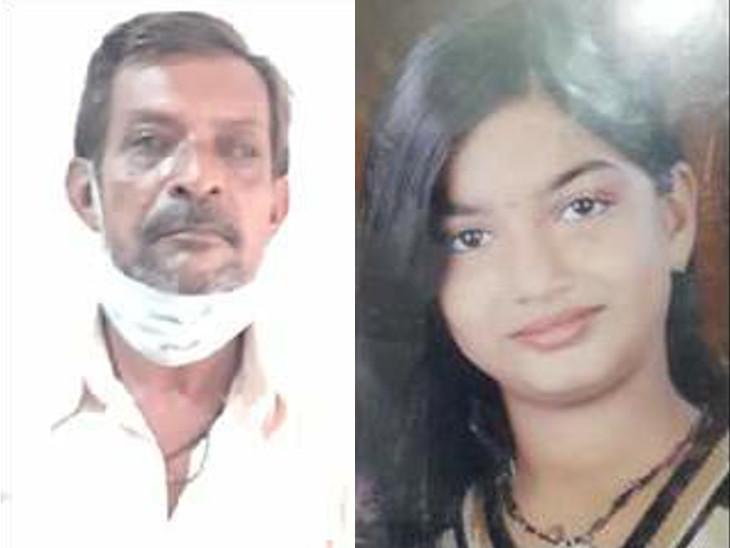 આરોપી પિતા ગોપાલભાઈ અને મૃતક પુત્રી ઈલાની ફાઈલ તસવીર - Divya Bhaskar
