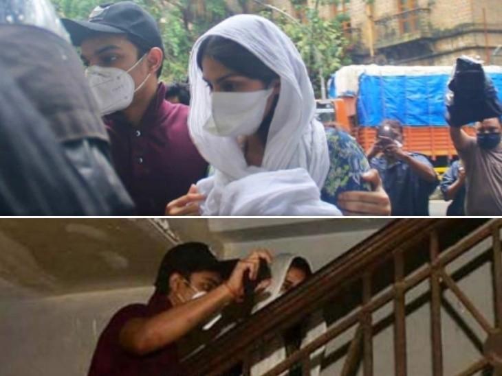 રિયા ચક્રવર્તી નિવેદન આપવા EDની ઓફિસ પહોંચી, ભાઈ શોવિક મીડિયાથી બચાવતો જોવા મળ્યો|બોલિવૂડ,Bollywood - Divya Bhaskar