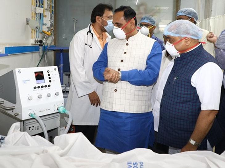 મુખ્યમંત્રી અને નાયબ મુખ્યમંત્રી સિવિલ હોસ્પિટલની મુલાકાતે - ફાઇલ ફોટો - Divya Bhaskar