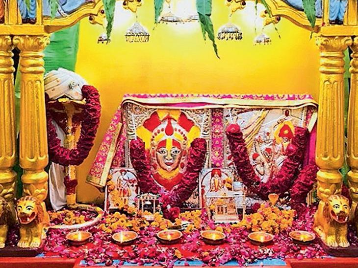 કુકરવાડાના મંદિરમાં થયેલી ચોરીનાઆભૂષણો 24 દિવસ બાદ પરત મળ્યા - Divya Bhaskar