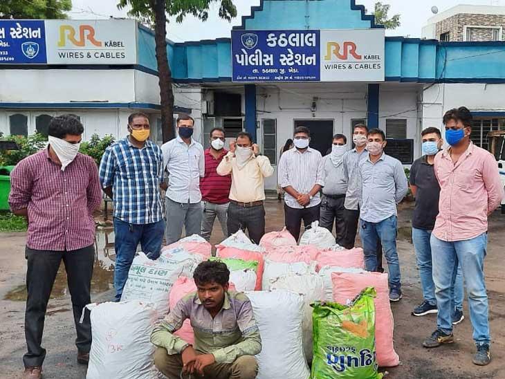 અમદાવાદ-ઇન્દોર હાઇવે પરથી ઓડિશાથી અમદાવાદ લાવવામાં આવતો 400 કિલો ગાંજો ઝડપાયો અમદાવાદ,Ahmedabad - Divya Bhaskar