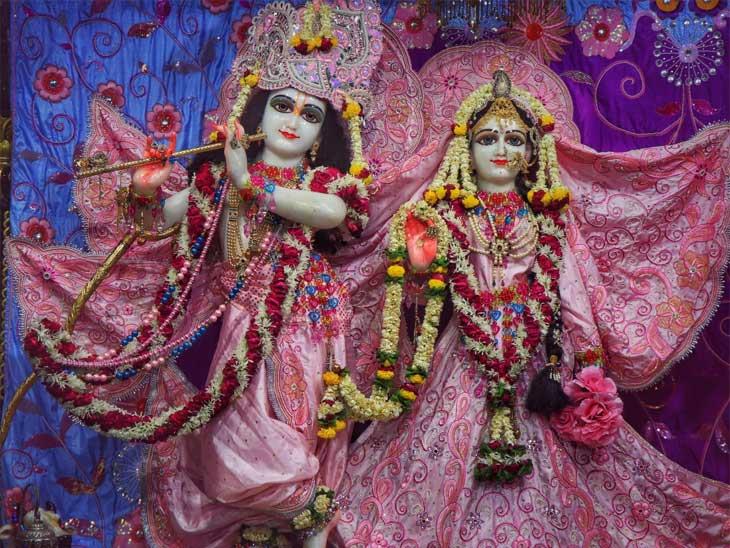 શહેરના એસ.જી.હાઈવે સ્થિત ઇસ્કોન મંદિર જન્માષ્ટમી અને નોમના દિવસે દર્શનાર્થીઓ માટે બંધ, ઓનલાઇન દર્શન કરી શકશે|અમદાવાદ,Ahmedabad - Divya Bhaskar