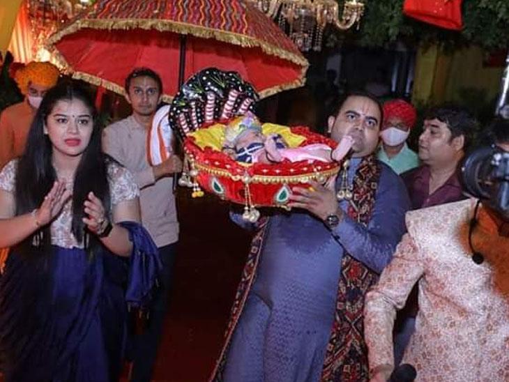 સાંસદ પુત્રને કોરોના, નિયમભંગ કરી ઉજવી જન્માષ્ટમી|ગોંડલ,Gondal - Divya Bhaskar