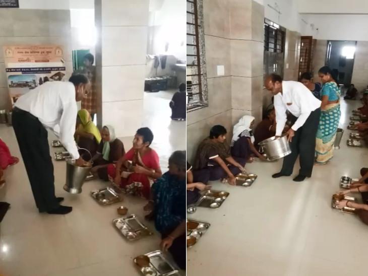 કેન્સરે સેવાનો માર્ગ બતાવ્યો, રાહ પરથી કોરોના પણ ન હટાવી શક્યો, કોરોનાને મ્હાત આપી સુરતના વૃદ્ધ ફરી સેવામાં|સુરત,Surat - Divya Bhaskar