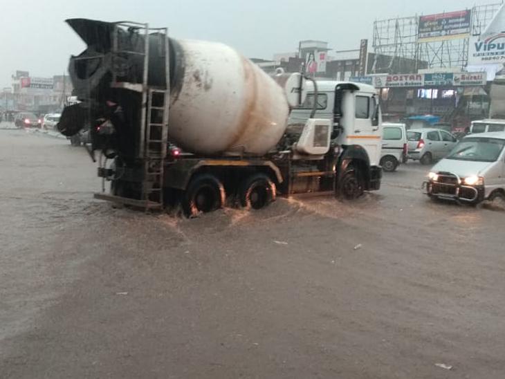 મહેસાણા-પાલનપુરમાં 2થી 6 ઈંચ જેટલો વરસાદ વરસ્યો