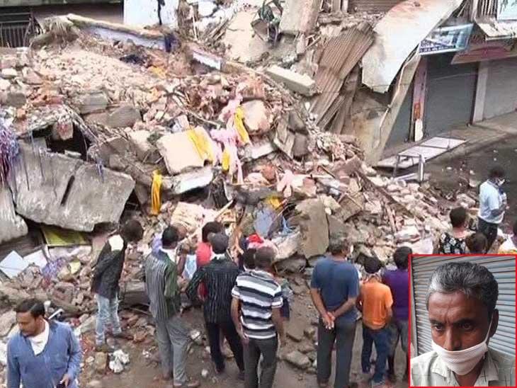 કોમ્પ્લેક્ષ ધરાશાયી થવાનો મામલો, મૃતકના પરિવારજને કહ્યું- ગ્રાઉન્ડ ફ્લોરની દુકાન માલિકે નીચેથી ચાર બીમ કાઢી લેતાં પાયો નબળો પડ્યો અને બિલ્ડીંગ પડી|અમદાવાદ,Ahmedabad - Divya Bhaskar