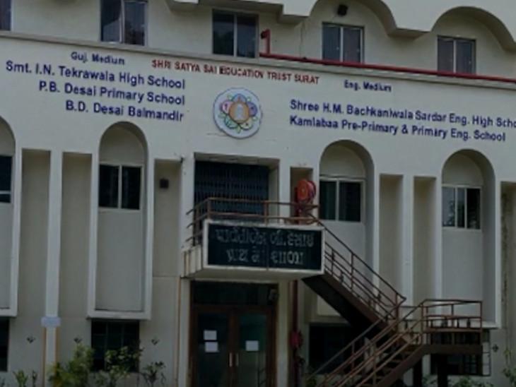 I.N.ટેકરાવાળા સ્કૂલના 7 શિક્ષકોને રાજ્યના શ્રેષ્ઠ શિક્ષક તરીકે સન્માનિત કરવામાં આવ્યા છે